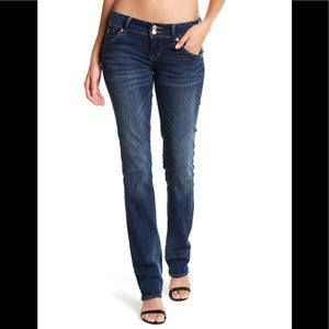 HUDSON Beth Baby Boot Cut Low Rise Stretch Jeans